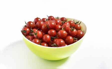 Mini tomatoes served in a bowl
