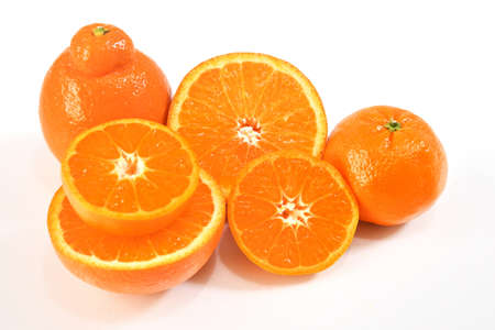 Cut citrus Archivio Fotografico