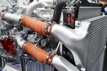 Heavy-duty truck diesel engine