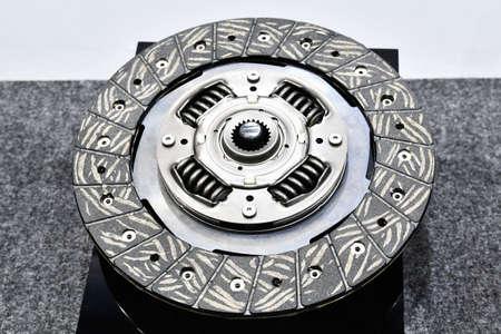 Clutch discs for automobiles Archivio Fotografico