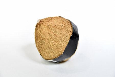 Old Coconut Archivio Fotografico