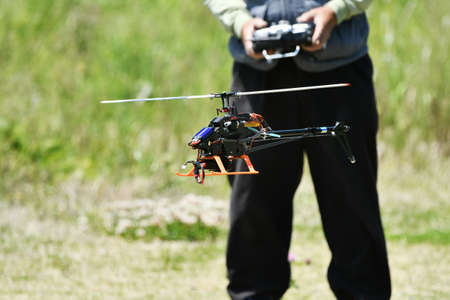 Piloting a RC Helicopter