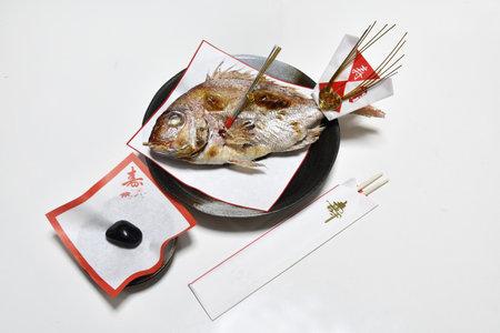 Festive sea bream grilled dishes