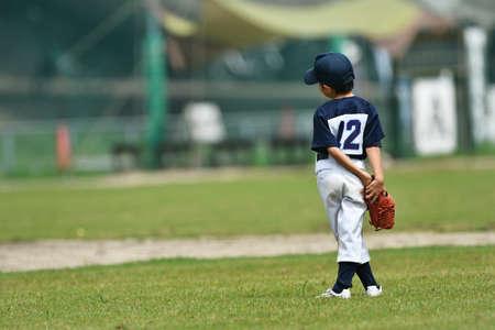 Practice of boys' baseball