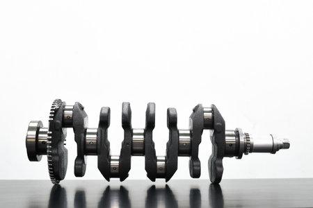 Crankshafts for automotive engines Stockfoto