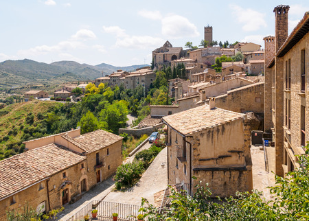 View of Sos del Rey Catolico, the birthplace of Ferdinand of Aragon, the Catholic Monarch.