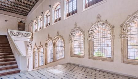 zaragoza: Aljaferia Palace in Zaragoza, Spain Editorial