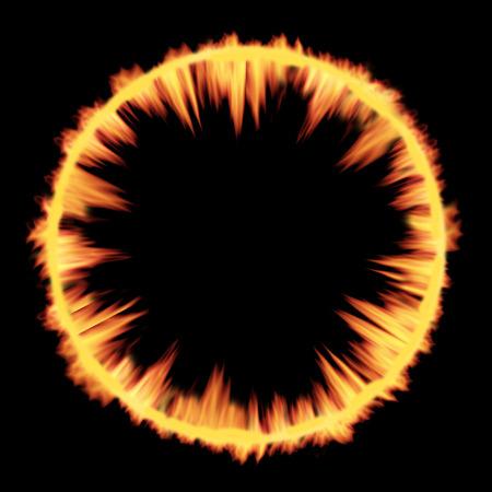armageddon: Cosmic Explosion shockwave fire texture.
