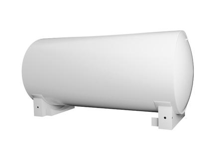 Tanker round 3d illustration Stock Photo