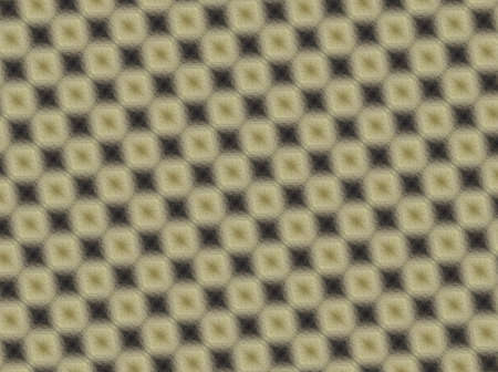 lattice window: Abstract squares in and black, yellow and beige pattern