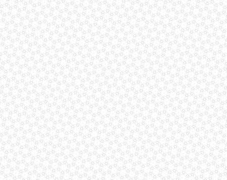 Extruded square blocks in shape of stars with 6 sides background. White and light gray. Stock Photo