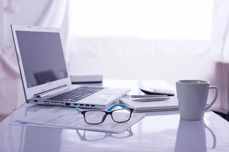 office desk: Office desk Stock Photo