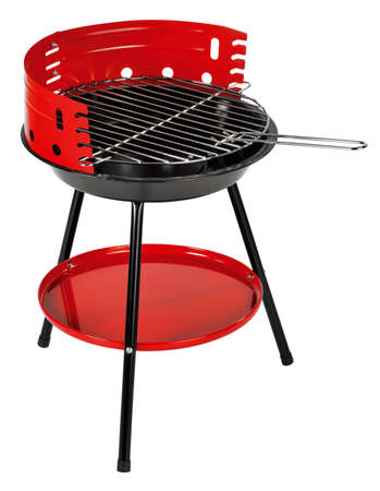 black appliances: barbecue Stock Photo