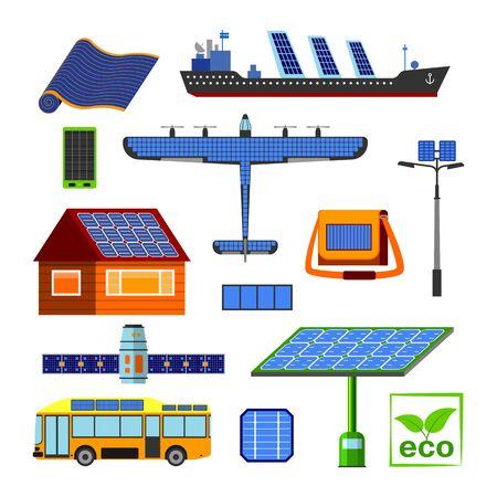 Solar energy set.