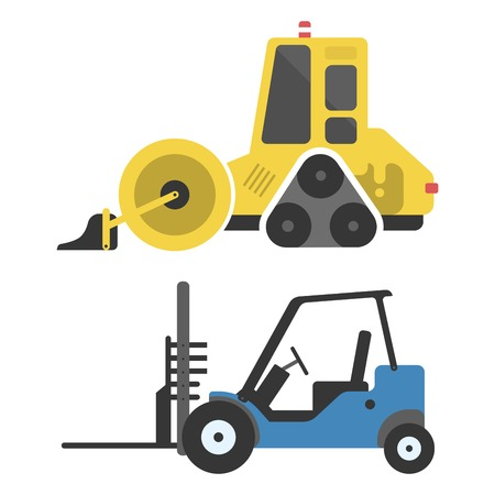 Construction delivery truck transportation vehicle mover road equipment.