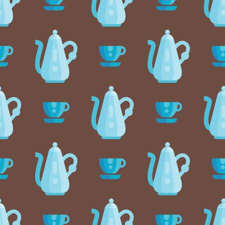 Küchenutensilien nahtlose Muster Vektor Vektor-Illustration Haushalt Abendessen Kochen Geschirr . Sammlung Geschirr Küchenutensilien Utensilien Ausrüstung Standard-Bild - 80192340