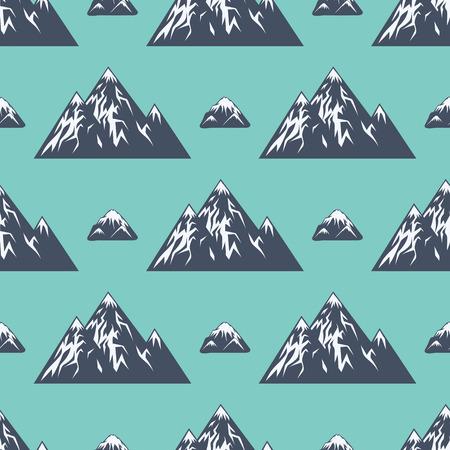 Berg Vektor Silhouette Natur im Freien felsigen Schnee Eis Top dekorative Landschaft Reise Klettern Hügel Peak Wandern Illustration Standard-Bild - 80535274