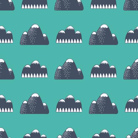 Vecteur de montagne silhouette silhouette nature mono hiver nature illustration vintage de montagne de montagne pic de randonnée pic de randonnée Banque d'images - 80709362