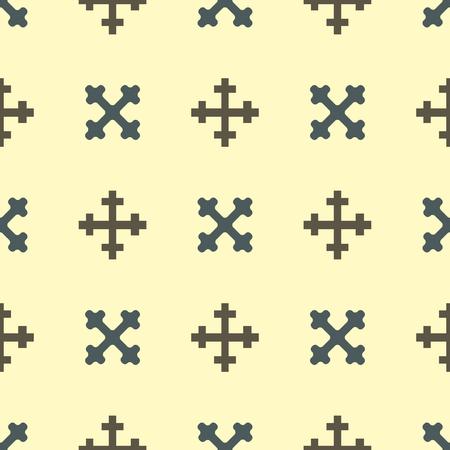Heraldische koninklijke van het de elementen uitstekende koning van kam middeleeuwse ridder van het het symboolwapenschild naadloze patroon vectorillustratie