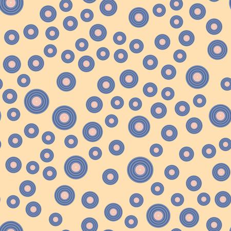 Naadloze van het de discospoor van patroon grungy vinyl muzikale verslag achtergrond van de het spoor grungy vectormuziek Stock Illustratie