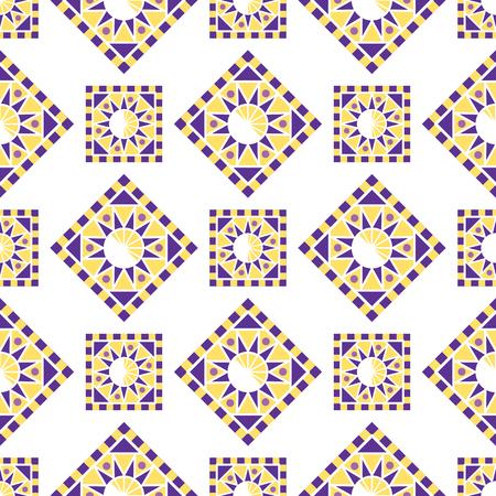 抽象的な三角形のポリゴン形状万華鏡ジオメトリ パターン。
