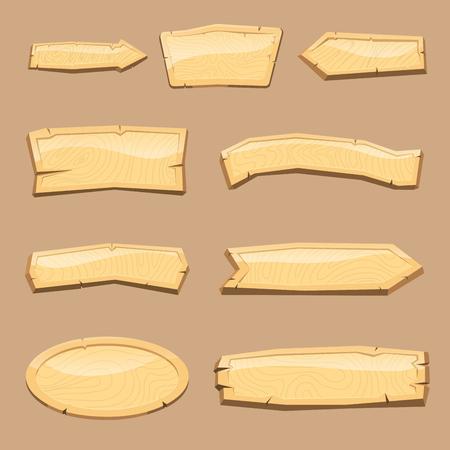 Répertoire d'enseigne en bois. Banque d'images - 83174449