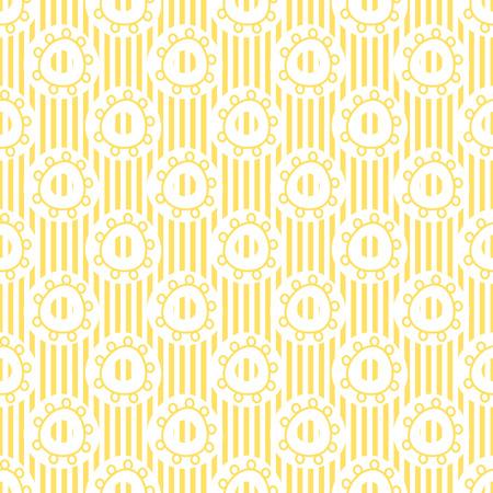 抽象的な形の万華鏡パターン テンプレート円装飾的な図。