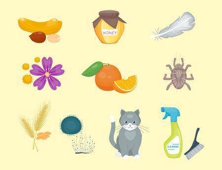 Allergy symbols