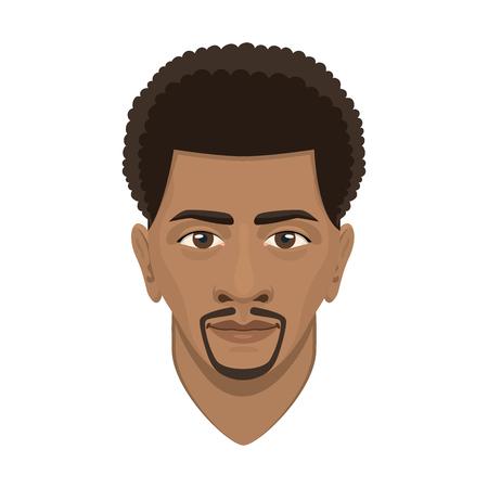 Junger Afro-Mann-Avatar. Standard-Bild - 87280917