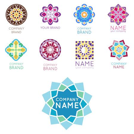 Business symbols template. Illusztráció