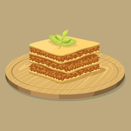 Lasagna pictogram.
