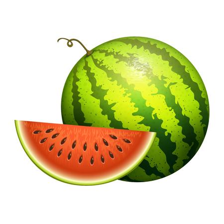 3 d の健康な菜食主義甘い熟したフルーツのイラストです。  イラスト・ベクター素材