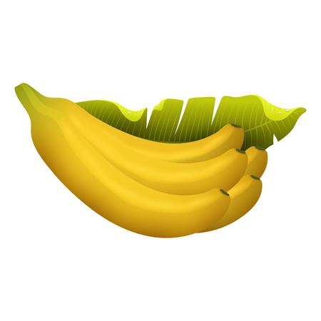 3d healthy vegetarian sweet ripe fruit illustration.