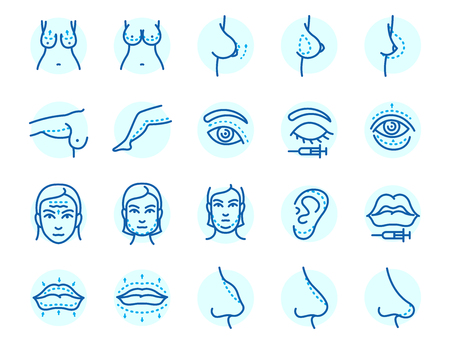 성형 외과 신체 부위