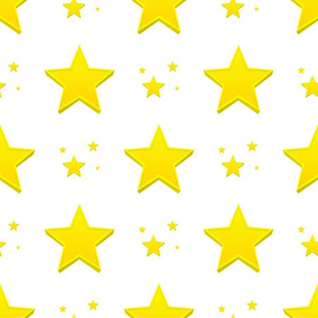 다른 스타일 셰이프 실루엣 반짝 스타 파란색 배경에 원활한 패턴 벡터 일러스트 레이 션