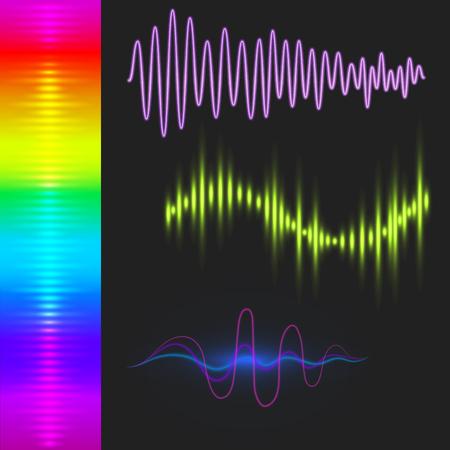 Musique numérique égaliseur vagues modèle de conception Banque d'images - 87677452