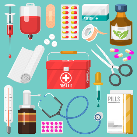 Medical instruments and doctor tools