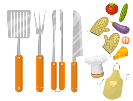 Barbecue home or restaurant party dinner products