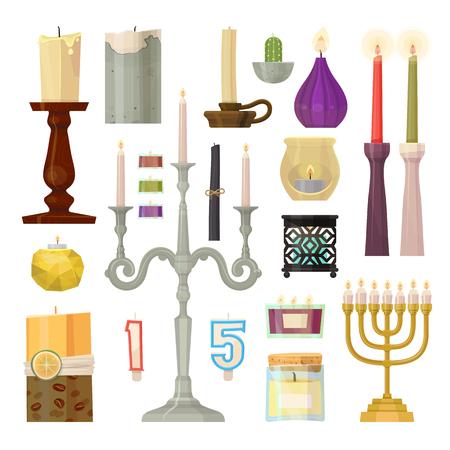 Kerze verschiedene Formen
