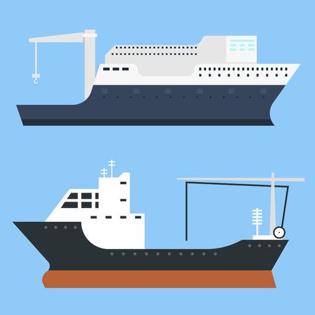 Vrachtschepen en tankschepen