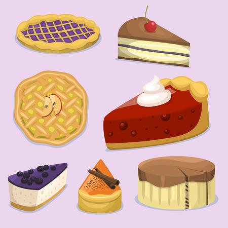 漫画ケーキ