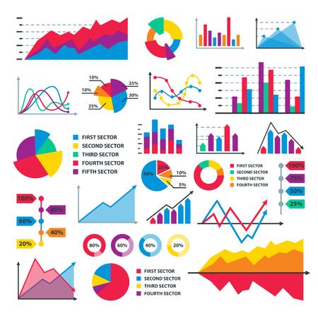 Diagram chart graph. Illustration