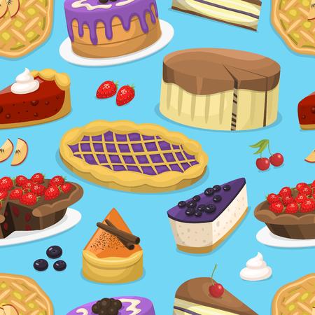 생일 축하 크림 케이크 파이 그림입니다.