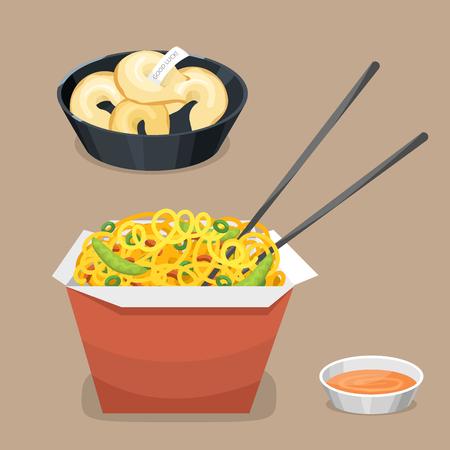 Chinesisches Traditionnahrungsmittelgericht Standard-Bild - 88058353