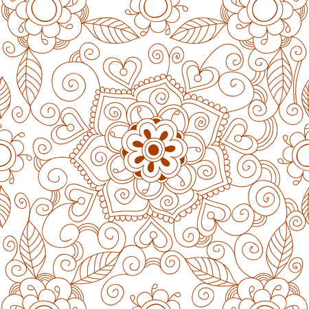 Ethnic ornamental lace vintage mandala abstract textile