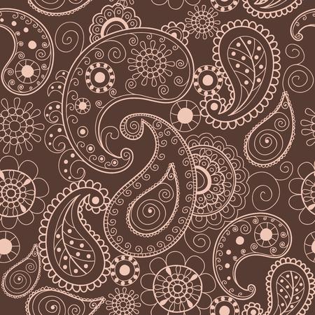 étnica ornamental de la vendimia del mandala de encaje ornamental abstracto