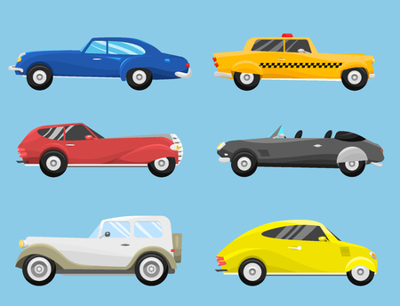 Retro vintage old style car Stock Vector - 88059319