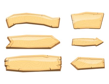 木製の矢印看板