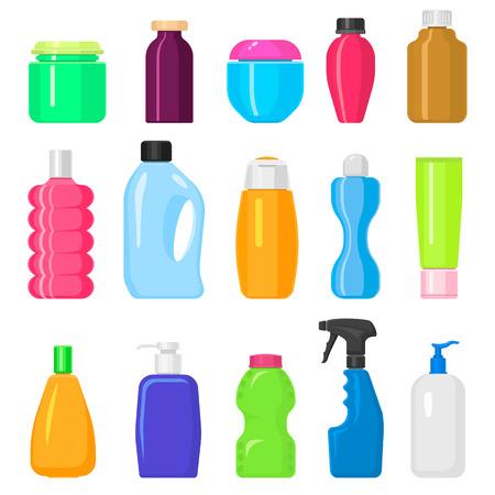 Chemicals liquid domestic fluid cleaner template