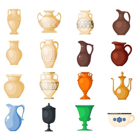 Starożytne greckie wazy i symbole starożytności